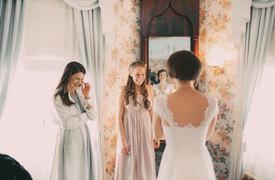 bröllopsfoto Umeå tärnor