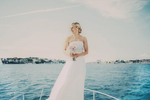 bröllopsfotograf Sundsvall bruden