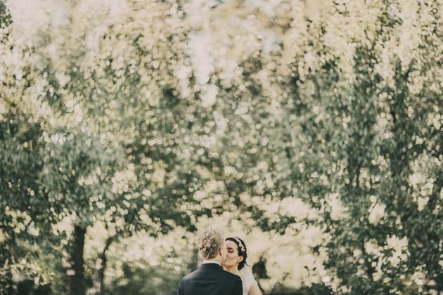 bröllopsfotograf träd Härnösand