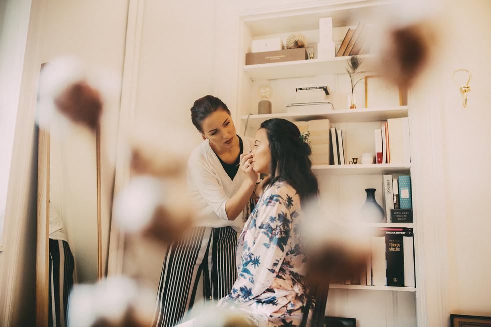 Bröllopsfotograf Örnsköldsvik smink