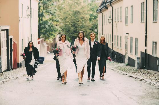 Bröllopsfotograf Umeå gata