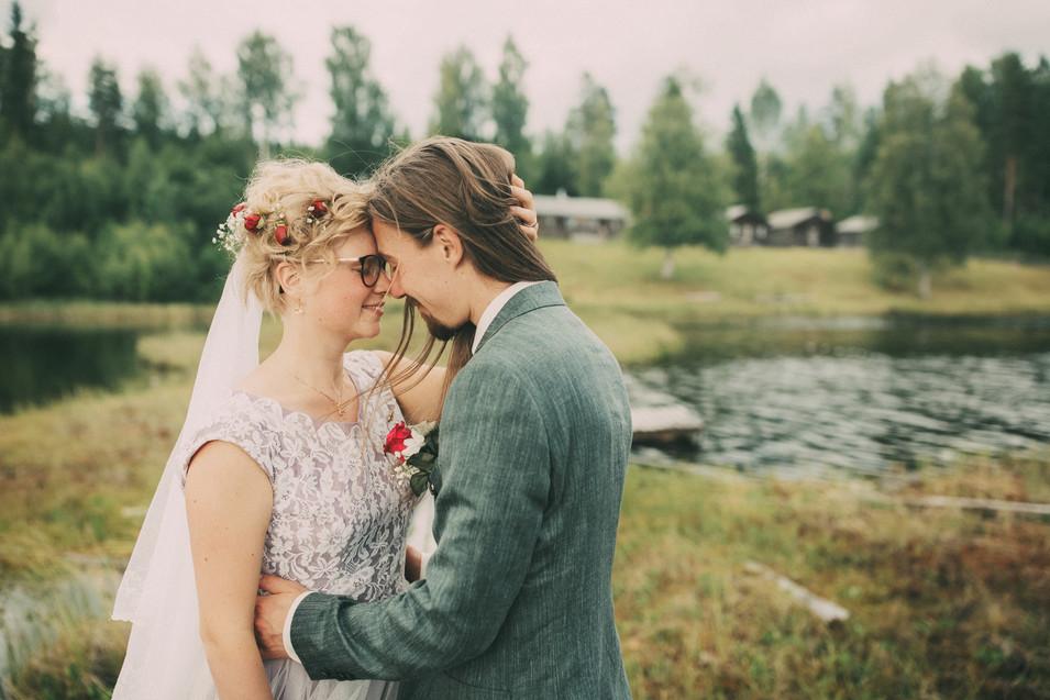 bröllopsfoto fäbodar Örnsköldsvik