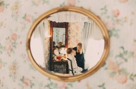 bröllopsfotograf Övik spegel