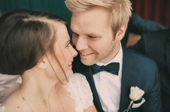bröllopsfoto Sundsvall brudpar