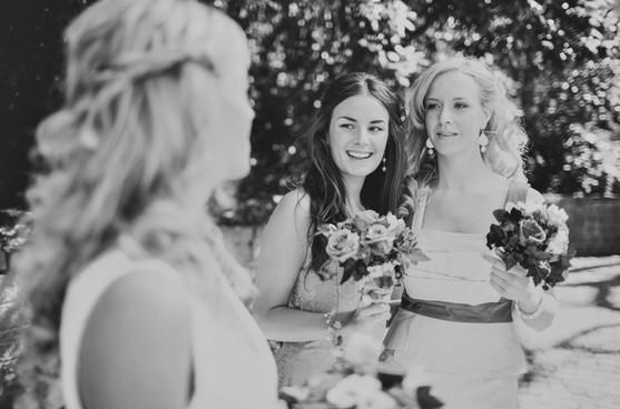 bröllopsfotograf tärnor Sundsvall