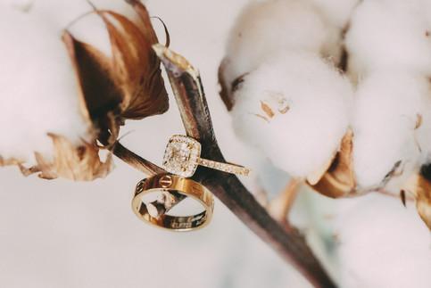 Bröllopsfotograf Umeå ringar