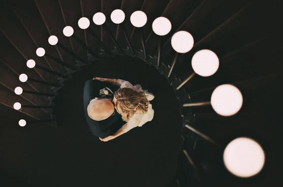 bröllopsfotograf lampor Sundsvall