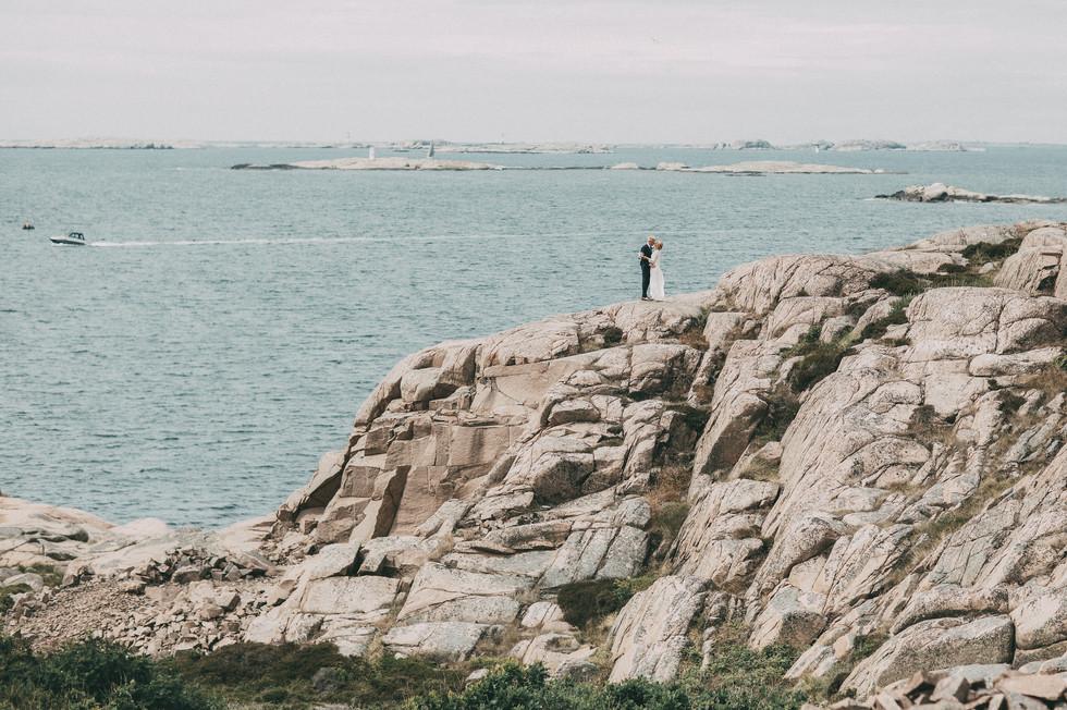 bröllopsfotograf hav Härnösand