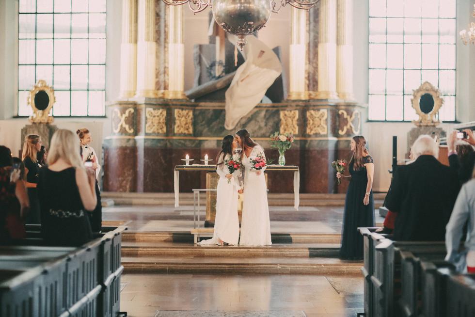 Bröllopsfotograf Örnsköldsvik vigsel