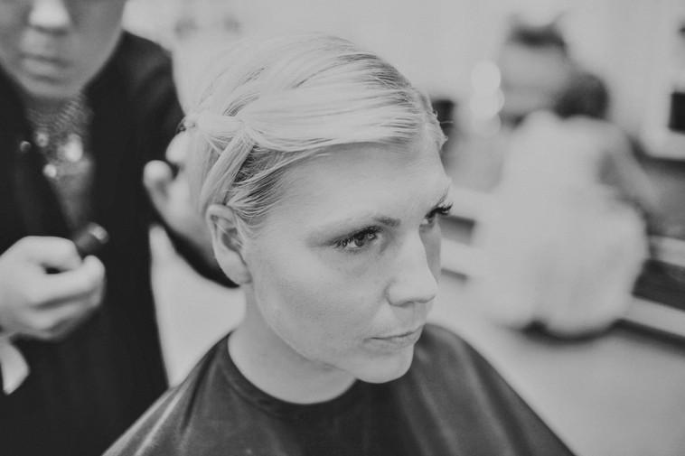 bröllopsfotograf Örnsköldsvik frisyren
