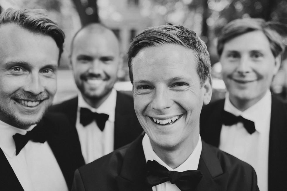 bröllopsfotograf Umeå brudgummen
