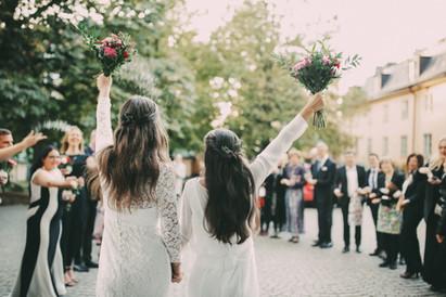 Bröllopsfotograf Örnsköldsvik kasta ris