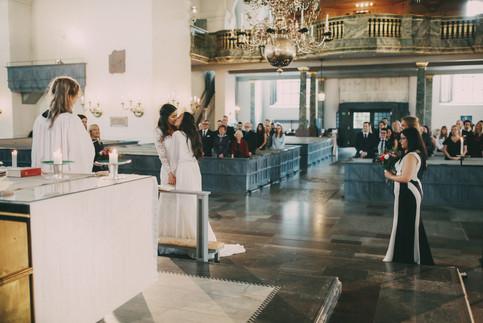 Bröllopsfotograf Västernorrland vigsel