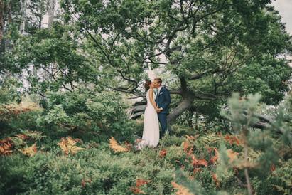 bröllopsfotograf brudpar Örnsköldsvik