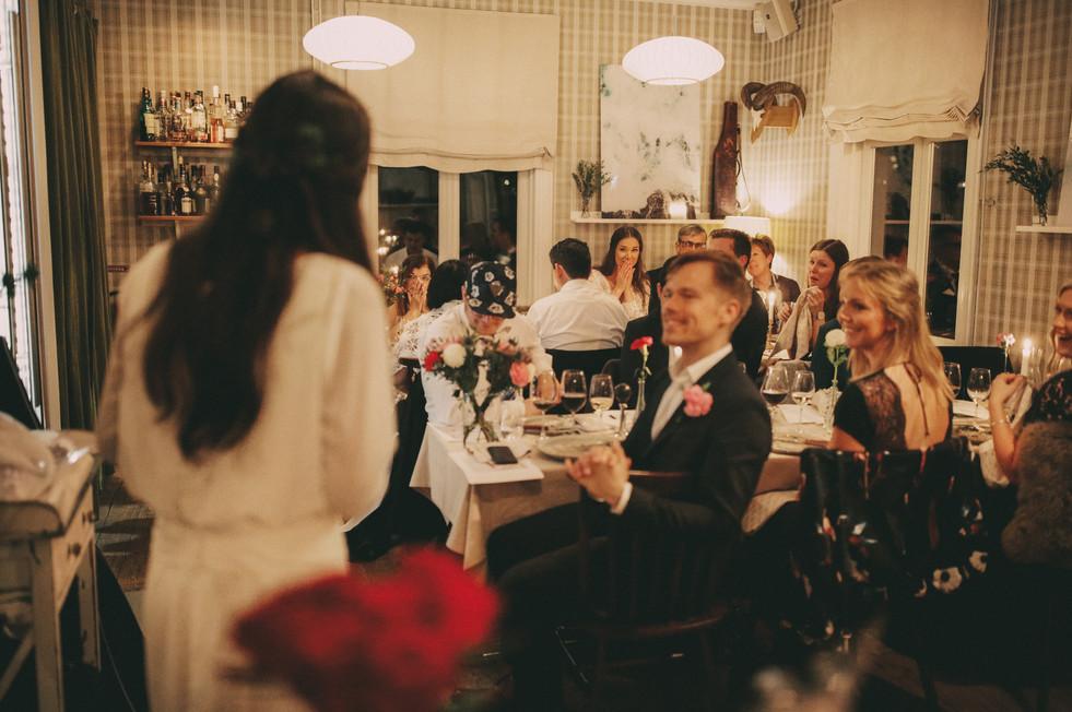 Bröllopsfotograf Umeå fest