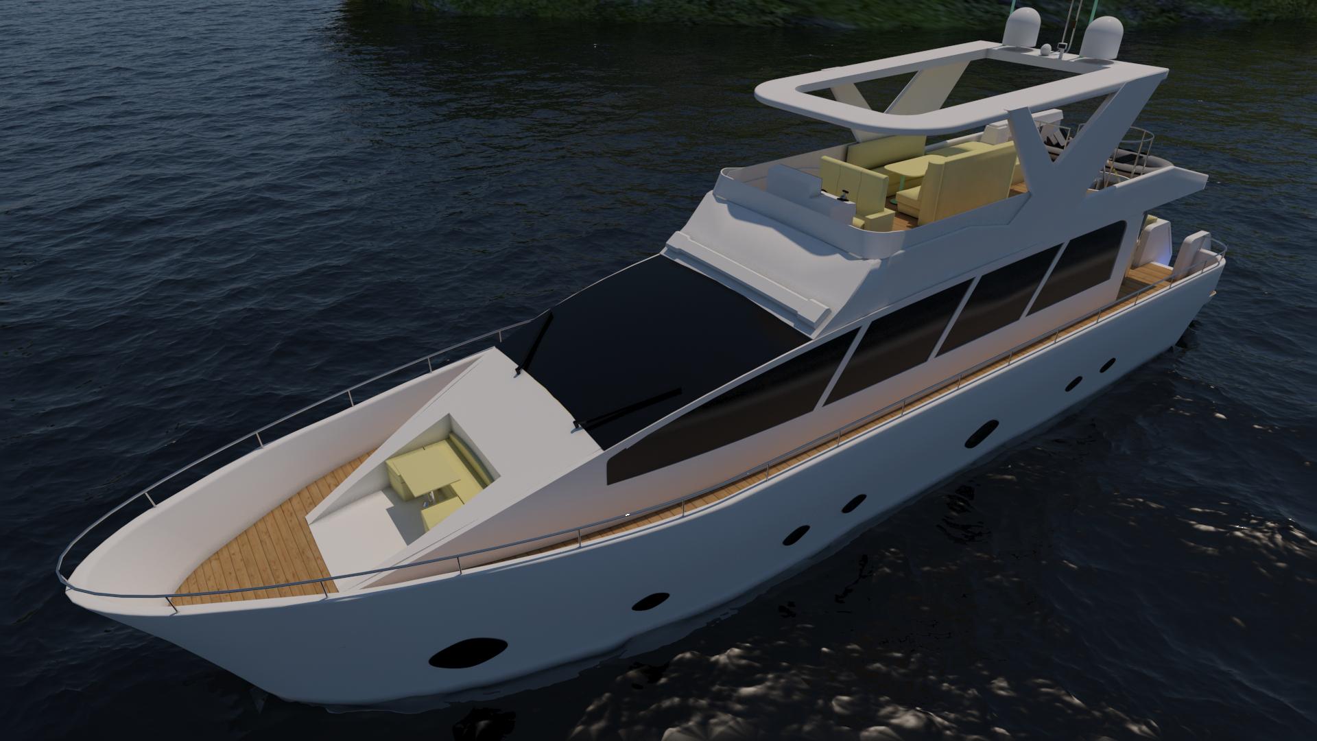 Codia Yacht Esterno