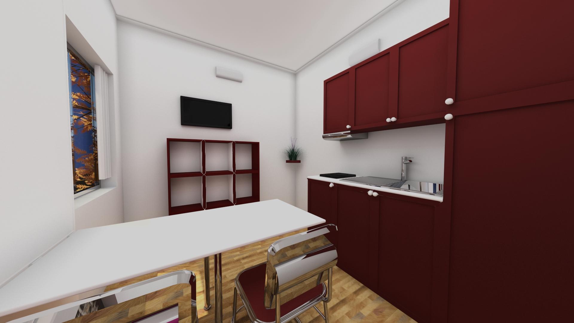 25 Mq Interno Cucina