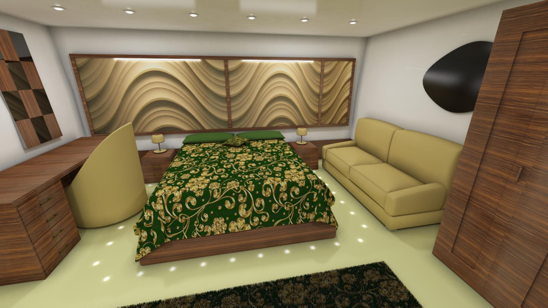 Suite Interno Yatch