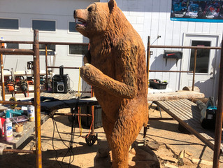 Giant Bear in Production @ Hubbart Wood