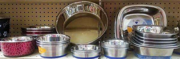 Stainless Steel Non-Skid Feeding Bowls