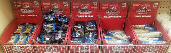 Red Barn Filled Treats