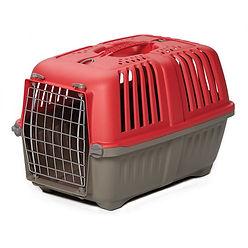 Spree Plastic Kennel Red.jpg