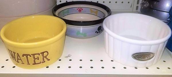 Ceramic Feeding Bowls