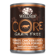Wellness Core Turkey Chicken Liver & Tur