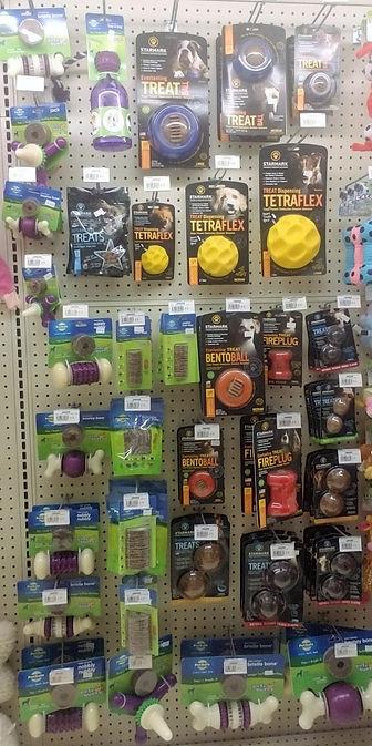Bento Ball, Fire Plug, Tetra Flex,  PetSafe Treat Bons