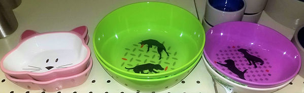Plastic Feeding Bowls