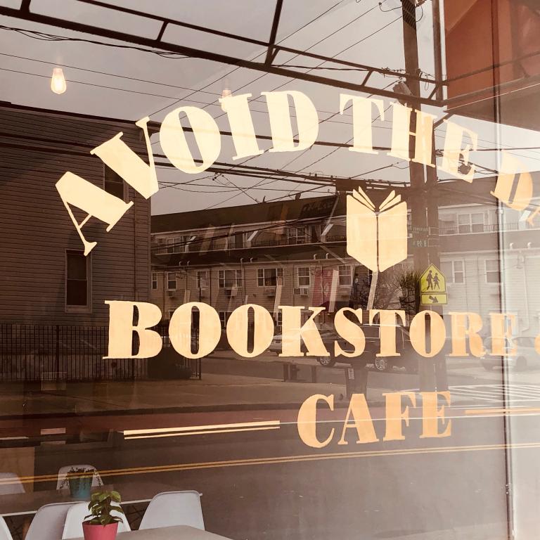 Rockaway Beach, NY, Reading at Avoid The Day Bookstore