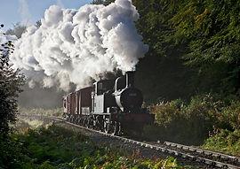 Dean Forest Railway Steam Train