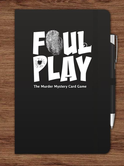 A6 Foul Play Notepad
