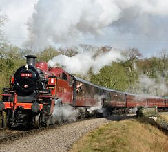 Keighly Worth Valley Steam Train