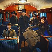 Sherlock Cast at Avon Valley Railway