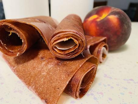 Peach Fruit Roll-ups Recipe
