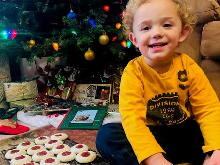 Kids will love this fun thumbprint cookie recipe
