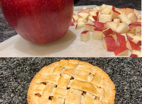 No Butter, No Rolling Pin, No Problem! Delicious Apple Pie