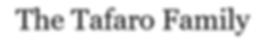 Tafaro Family - name only.png
