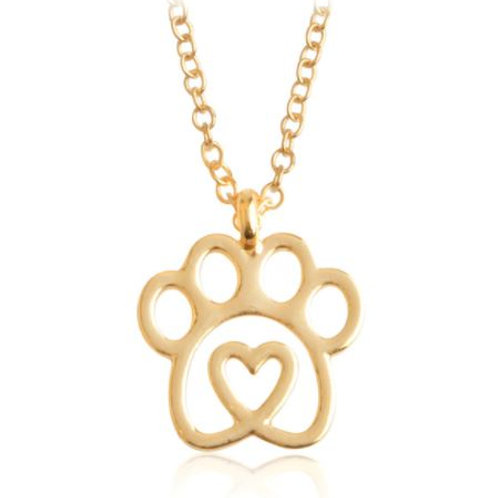Necklace - Paw Heart