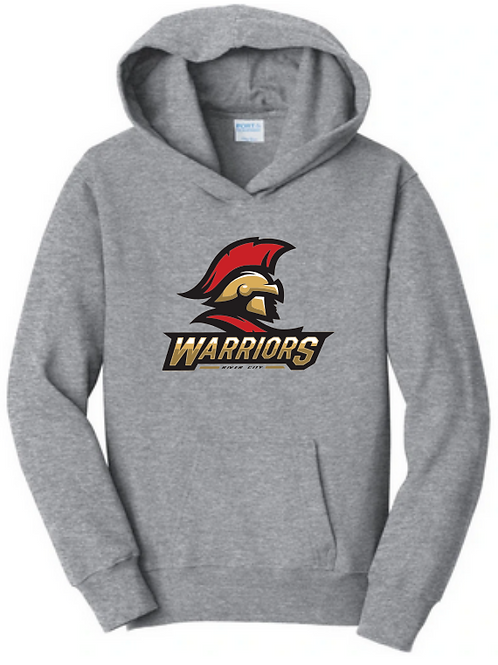 Warriors Logo Hoodie - Gray