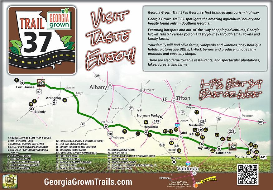 2020 Trail 37 VIC wall map 47.5 x 68.2 b
