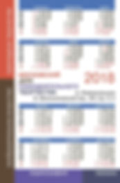 Календарь МДСТ-2018
