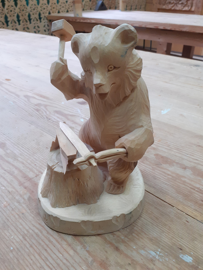 Медведь-кузнец