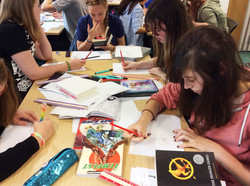 Workshop photo - Wisbech Library