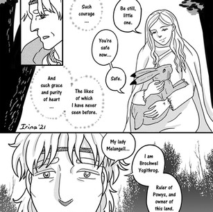 Melangell's Lambs page 10