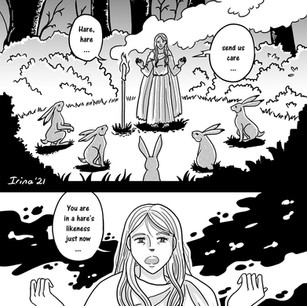 Melangell's Lambs page 15