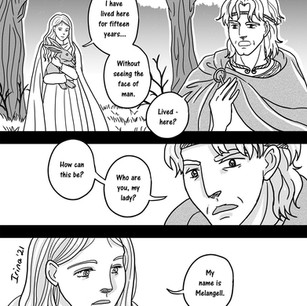 Melangell's Lambs page 7