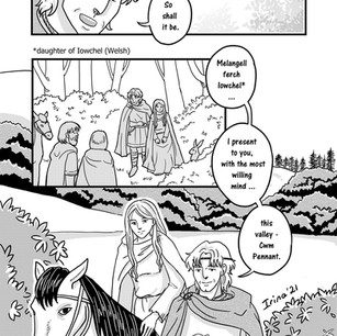 Melangell's Lambs page 12