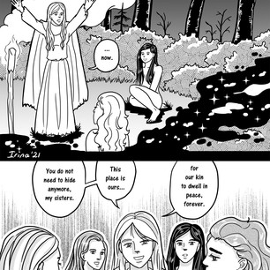 Melangell's Lambs page 17